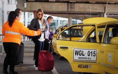 Czy taksówki na lotnisku w Bogocie są bezpieczne
