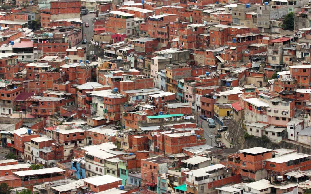 Slumsy w Caracas