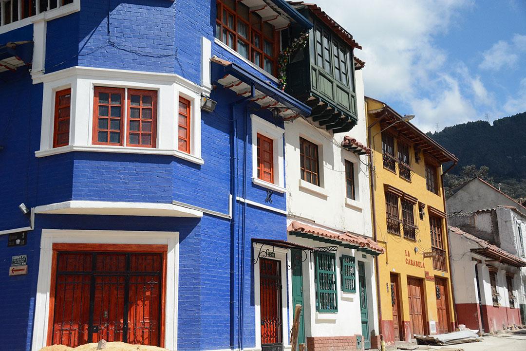 Kolorowe domy kolonialne
