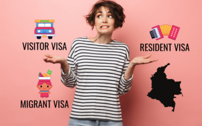 GUIDE TO VISITOR, MIGRANT AND RESIDENT VISAS IN COLOMBIA